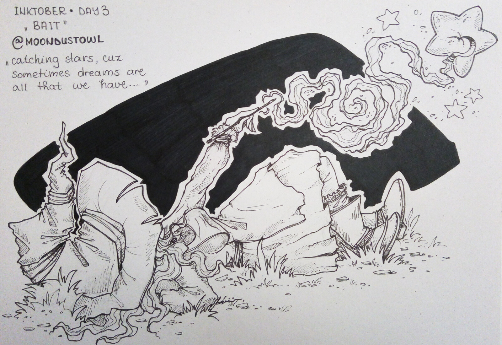 Day3 - Bait (catching stars)