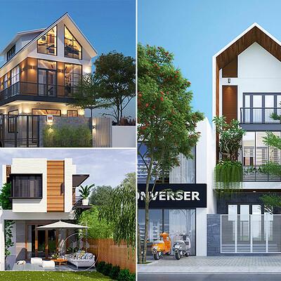 Neohouse architecture thiet ke biet thu dep tai da nang