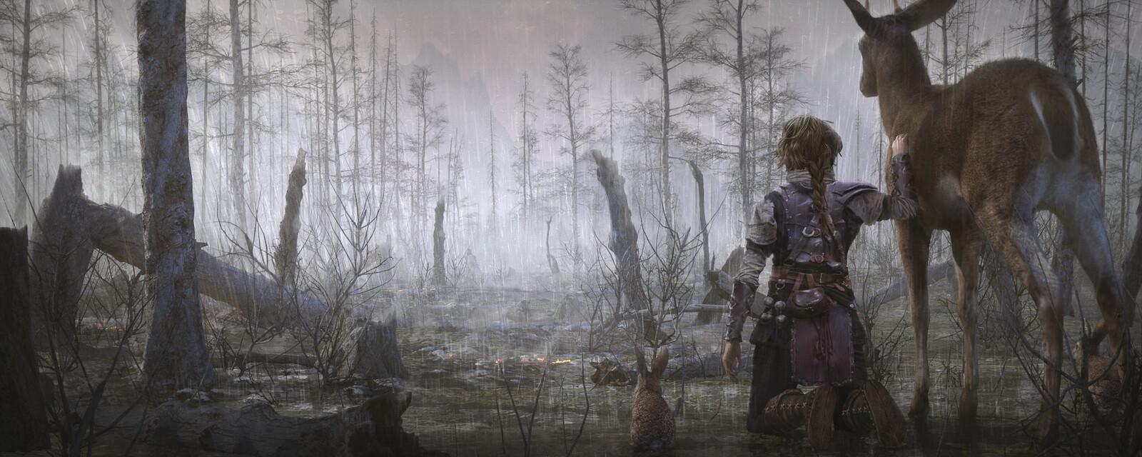 Forest - Sad Key Frame