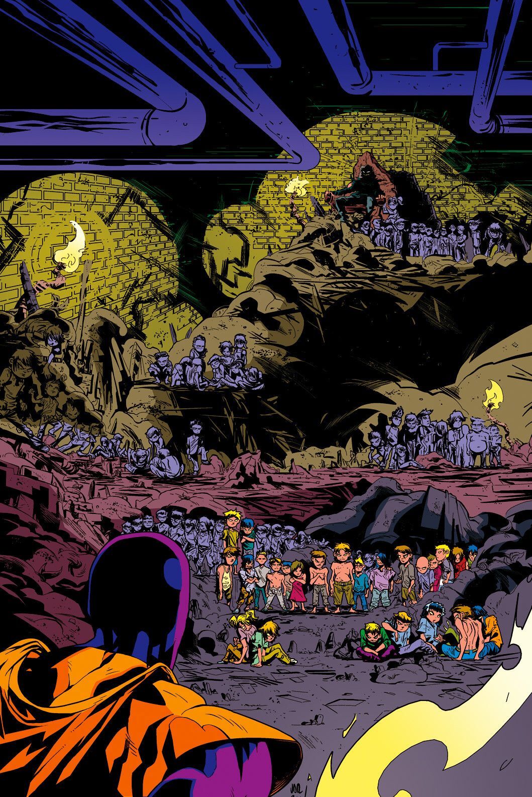 Colouring for ComiXtribe/The Standard. Story by John Lees, Art by Will Robson and Jonathan Rector.