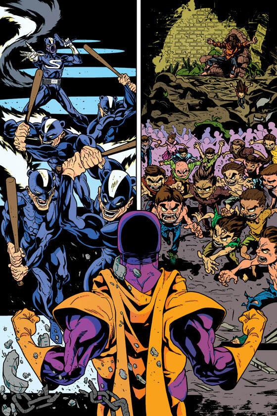 Digital restoration and colouring for Dark Horse/Dagar the Invincible. Story by John Lees, Art by Will Robson and Jonathan Rector.