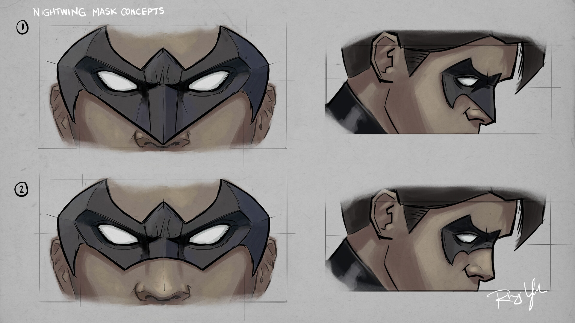 Rhys yorke ts2 nightwing mask