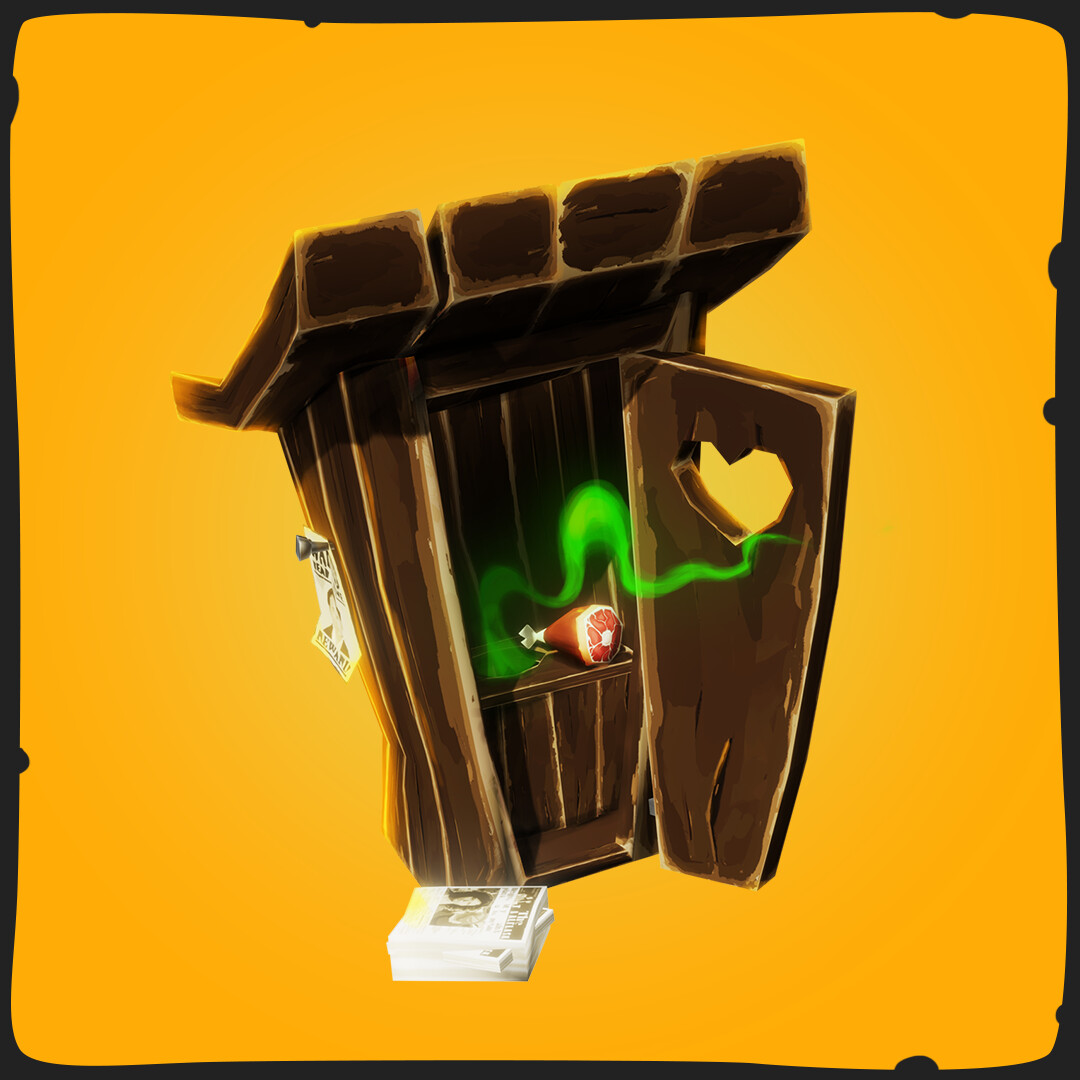 Outhouse - FANTASTIC Village Pack