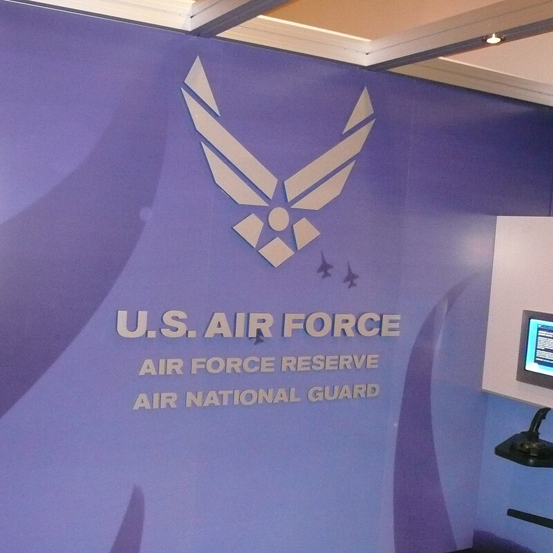 US Air Force Pentagon Display