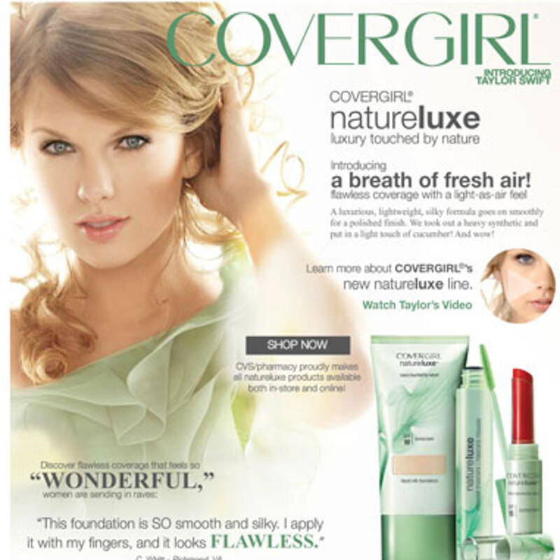 Covergirl Brand Page
