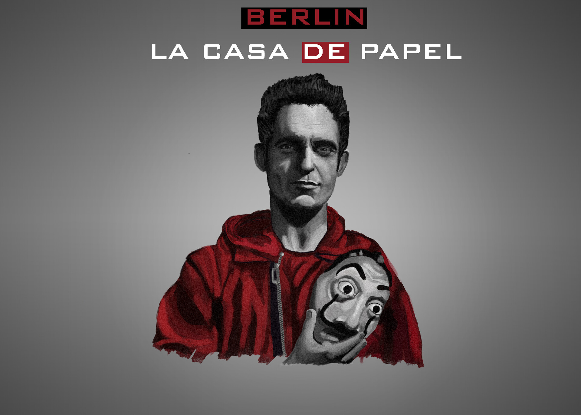 Artstation La Casa De Papel Berlin Artwork Teo Hardemo