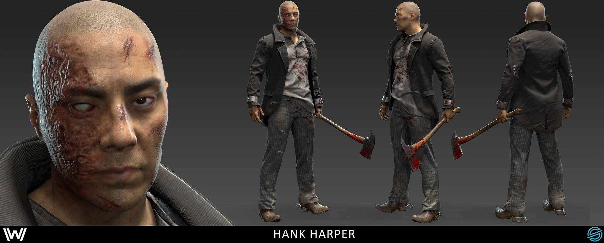 Damon woods hank full unmasked