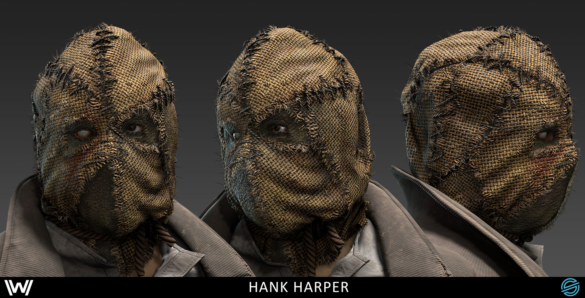 Damon woods hank mask cu