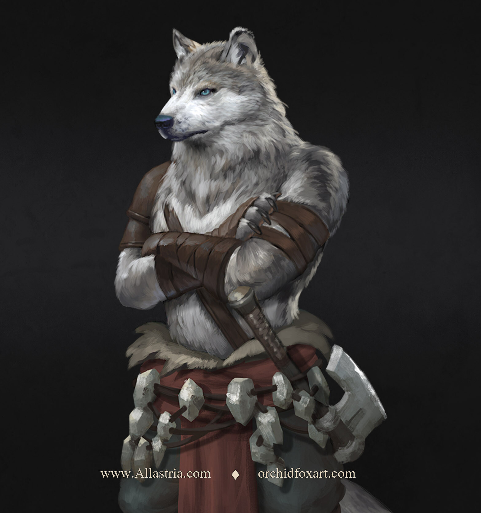 Kirath's Army - Wolf Tribe Fighter