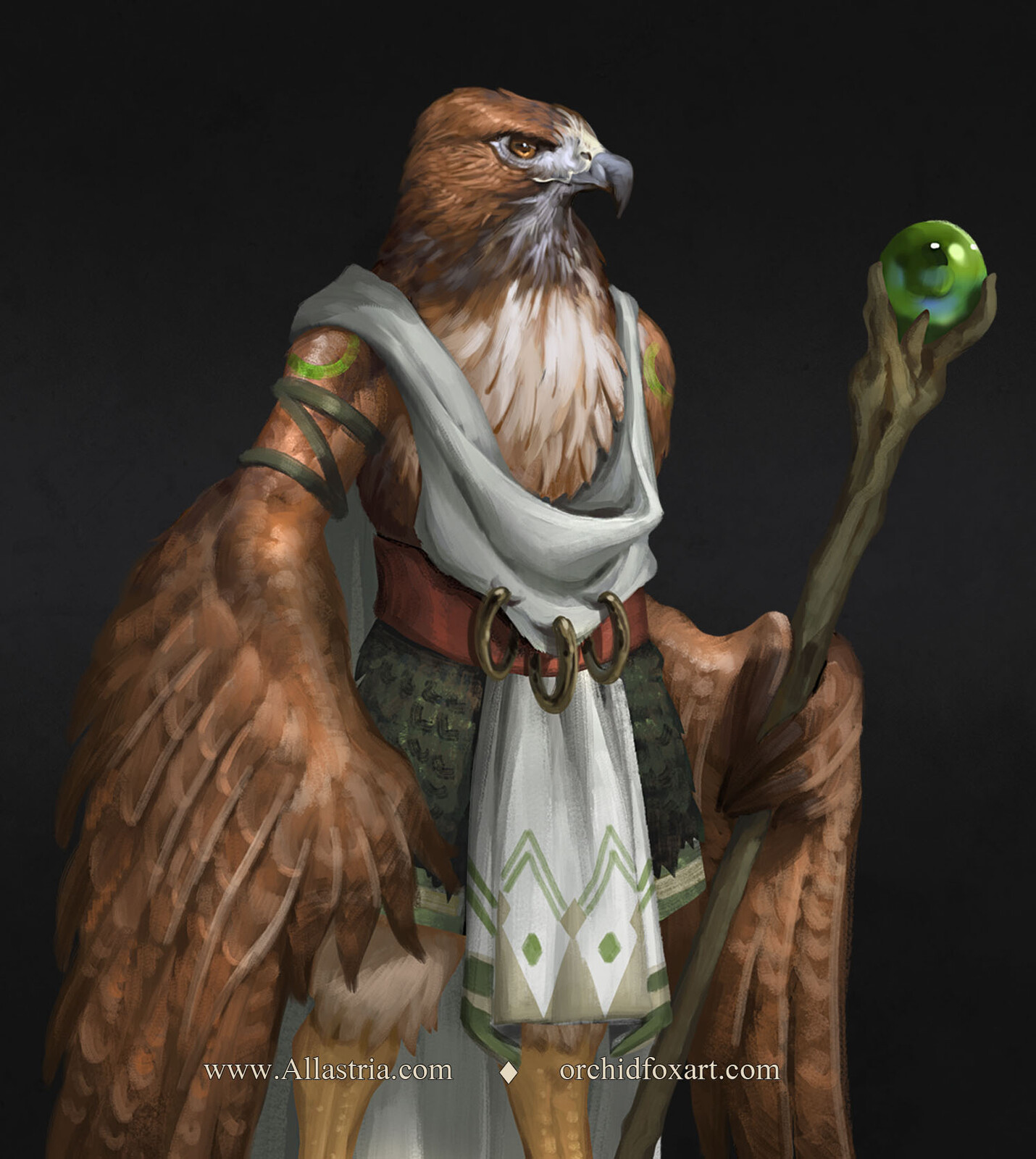 Kirath's Army - Hawk Tribe Wizard