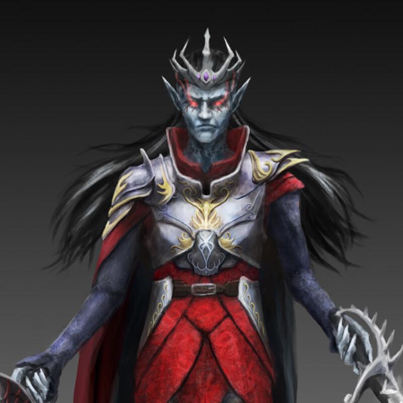 Levrik Von Seranis, The Vampire King