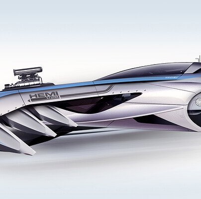 Encho enchev muscle car concept