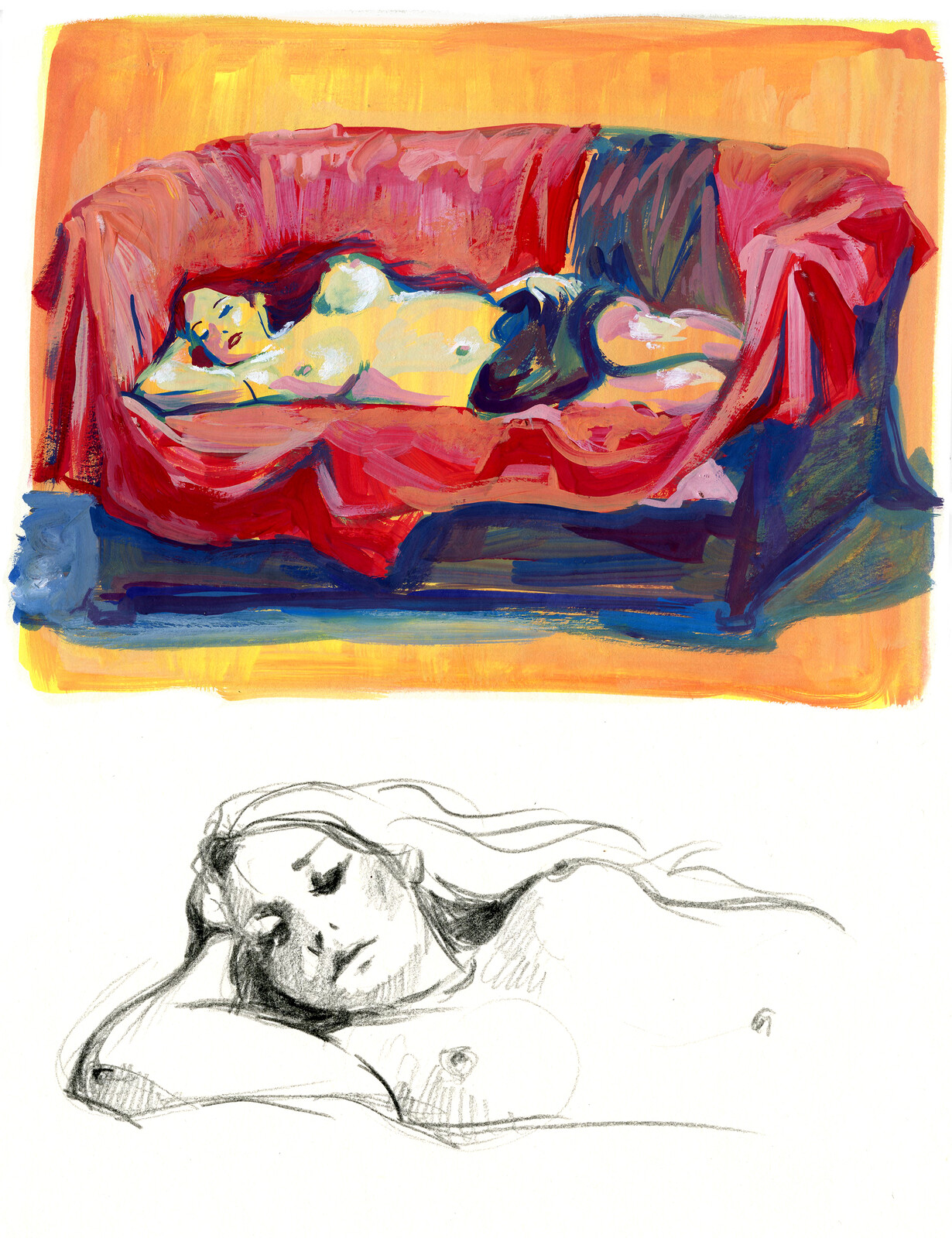 Life Drawing in Reading