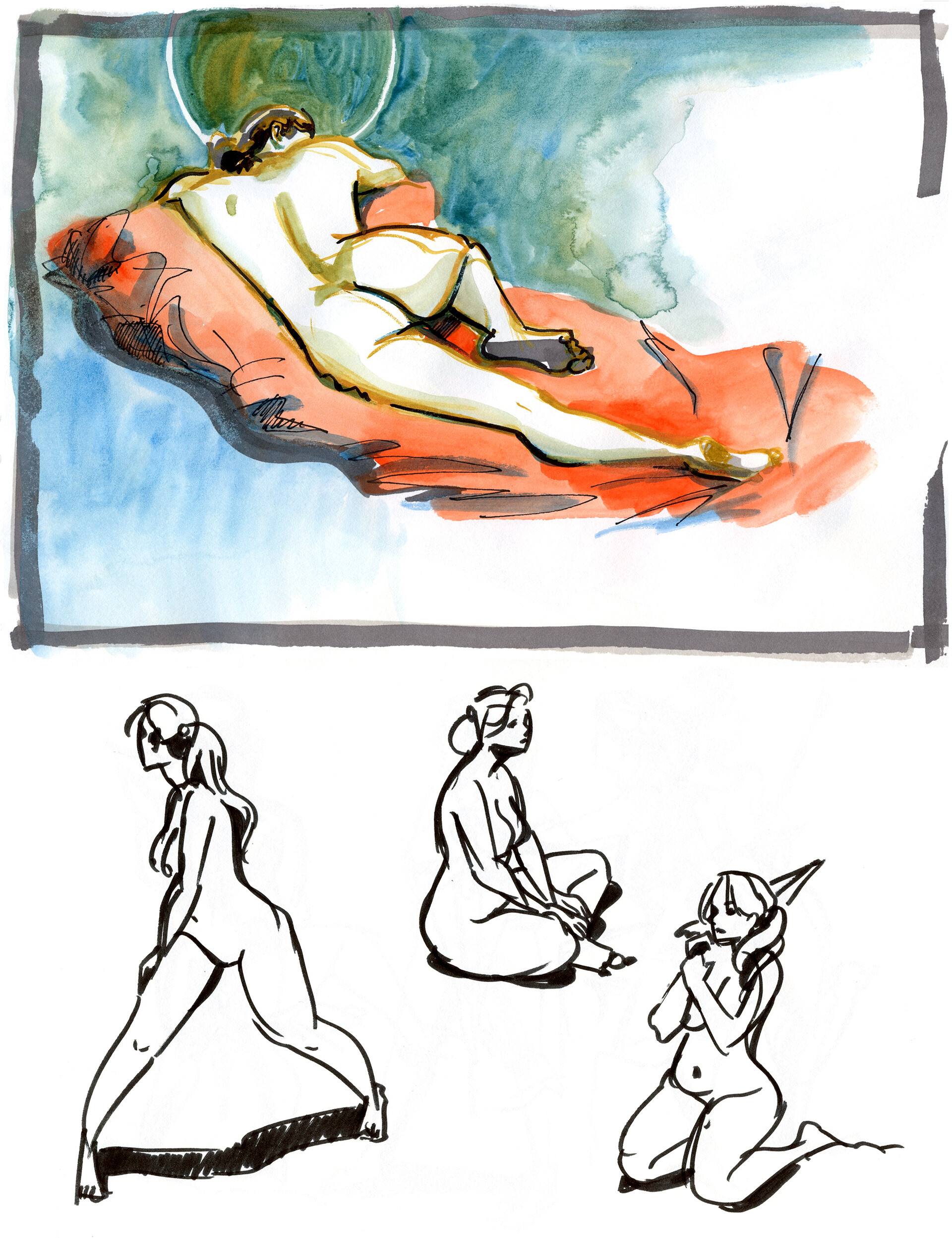 Elisa moriconi 3 06 giugno girl ink w studies 04