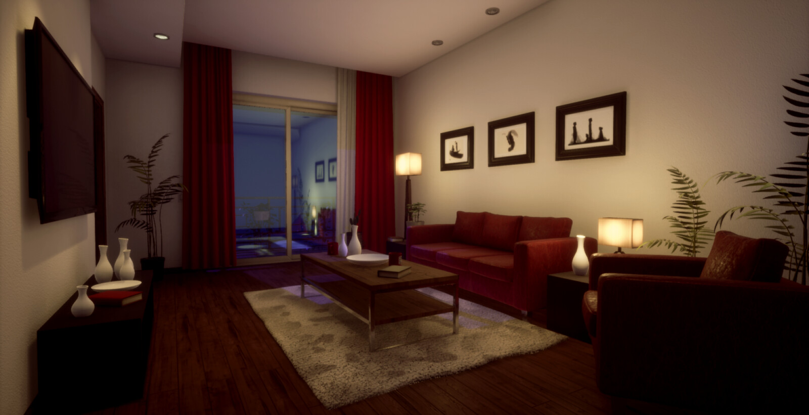 Cozy Home - Night