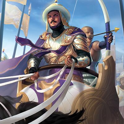 Gunship revolution argent saga raza knight of unity render