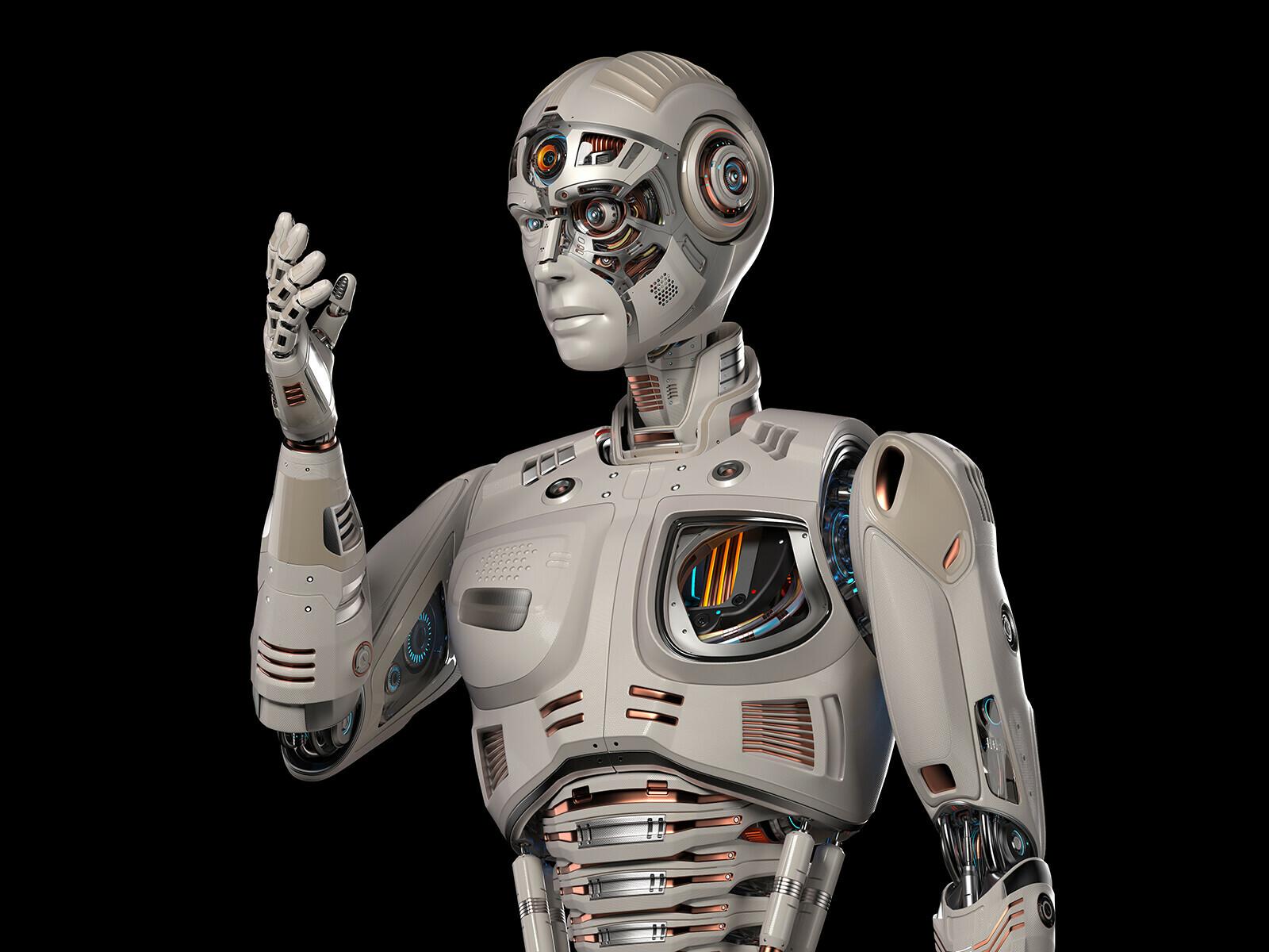 картинки роботов мужчин этого