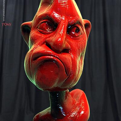 Surajit sen tony digital sculpture surajitsen oct2019