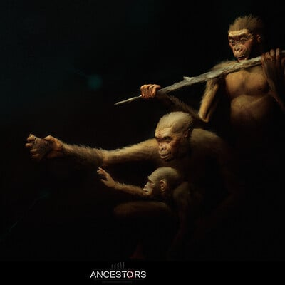Ancestors: The Humankind Odyssey Evolution screens