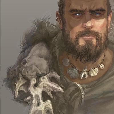 Aleksandra klepacka viking profile sketch6 12 10 smaller