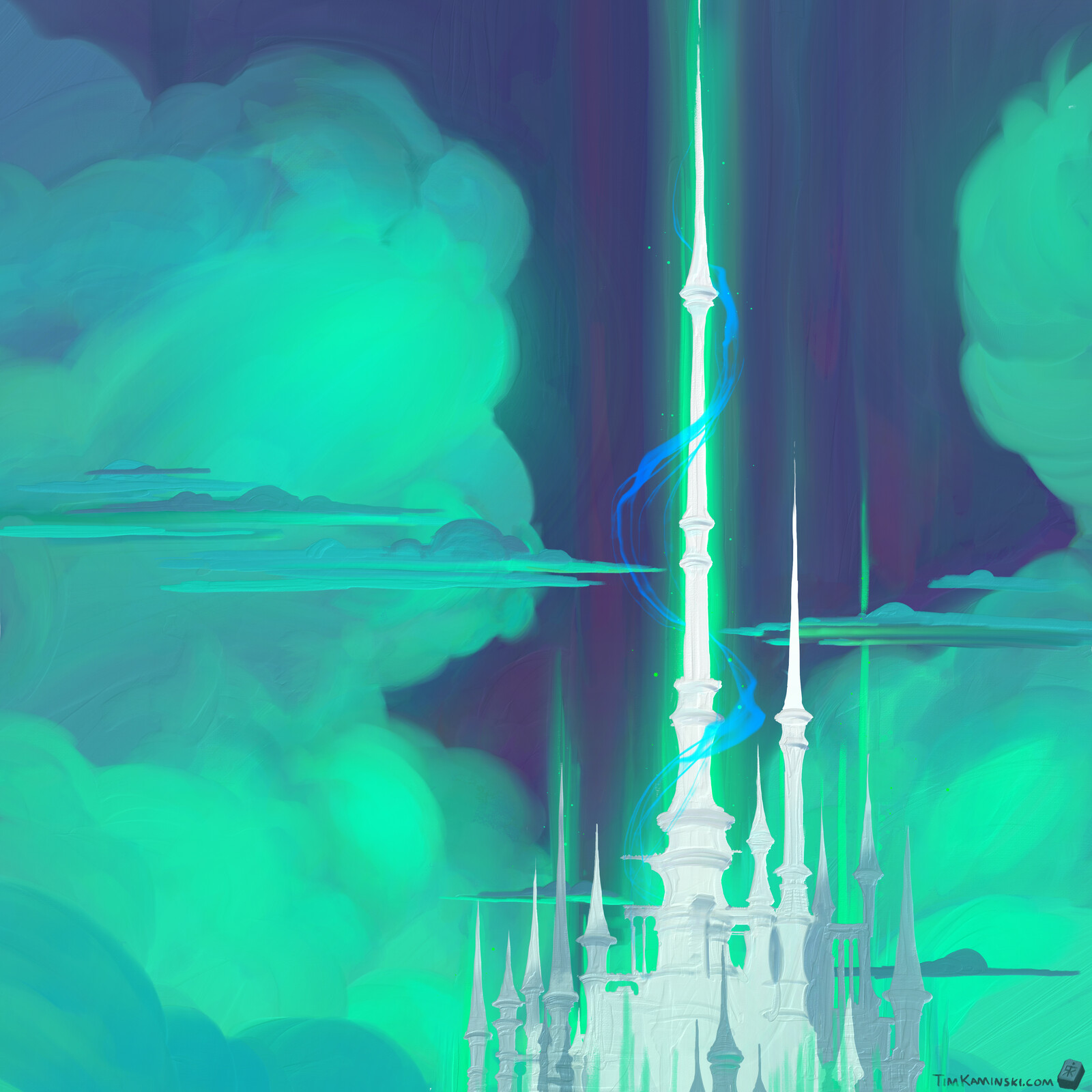 Distant Towers