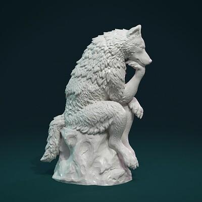 Alexander volynov thinking wolf 04