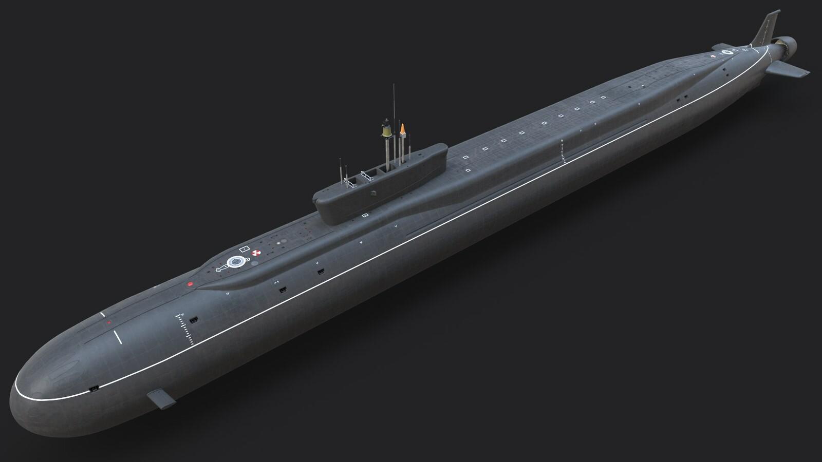 Project 955 Borei Class Submarine