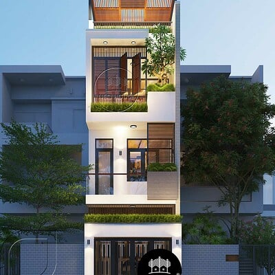 Neohouse architecture nha pho mat tien 5m 1