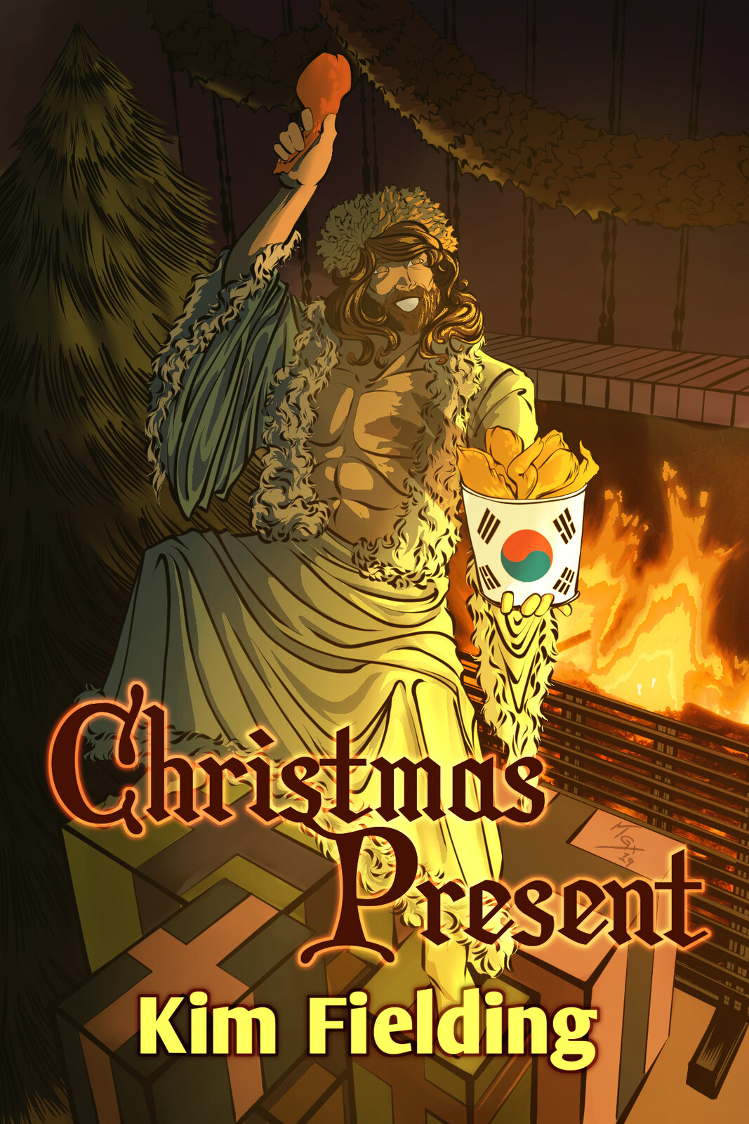 Book Cover: Christmas Present by Kim Fielding