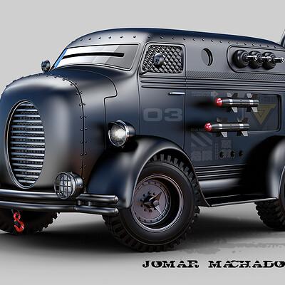 Jomar machado 220 retro truck