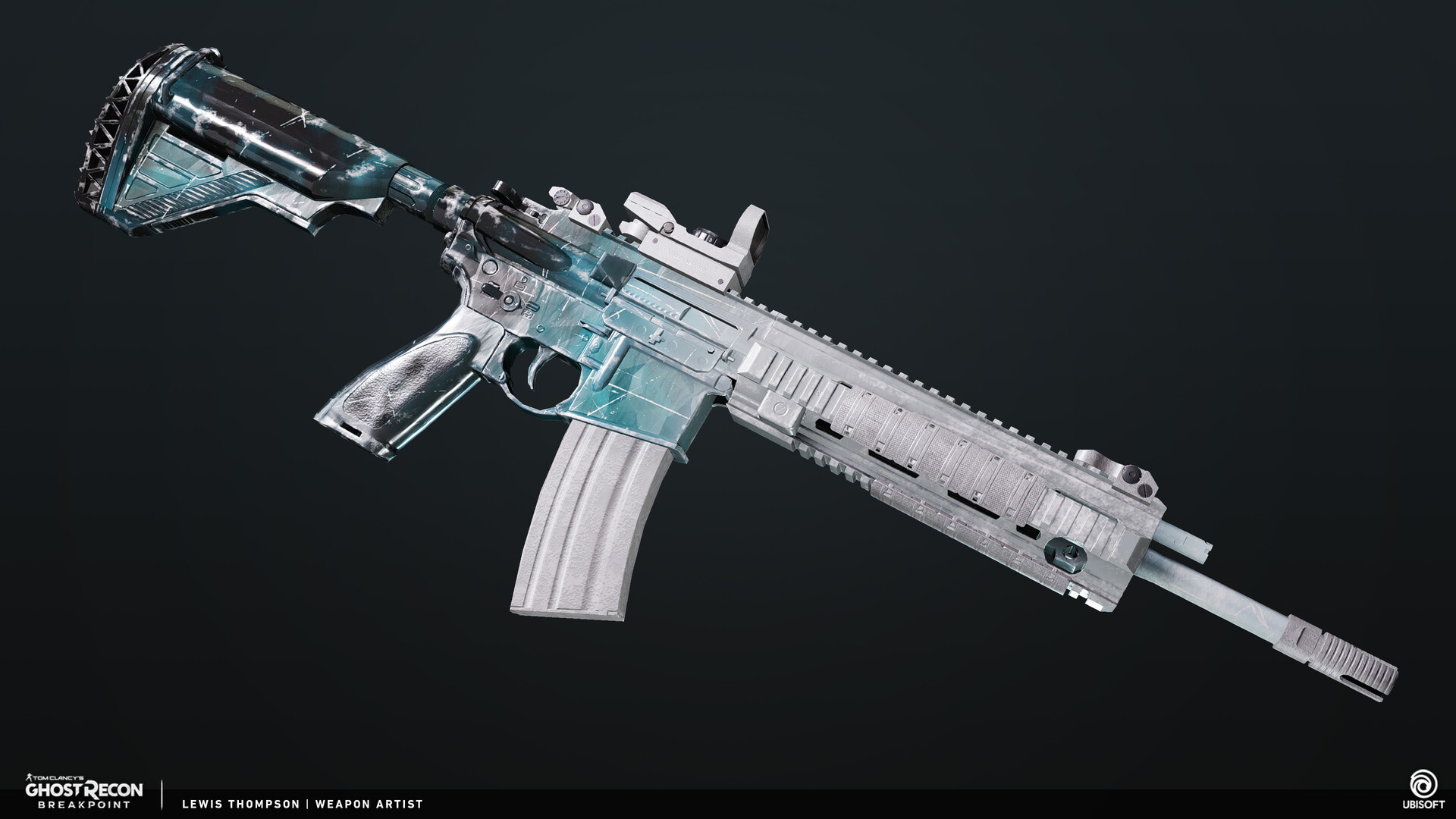Artstation Ghost Recon Breakpoint Legendary Weapons Lewis Thompson