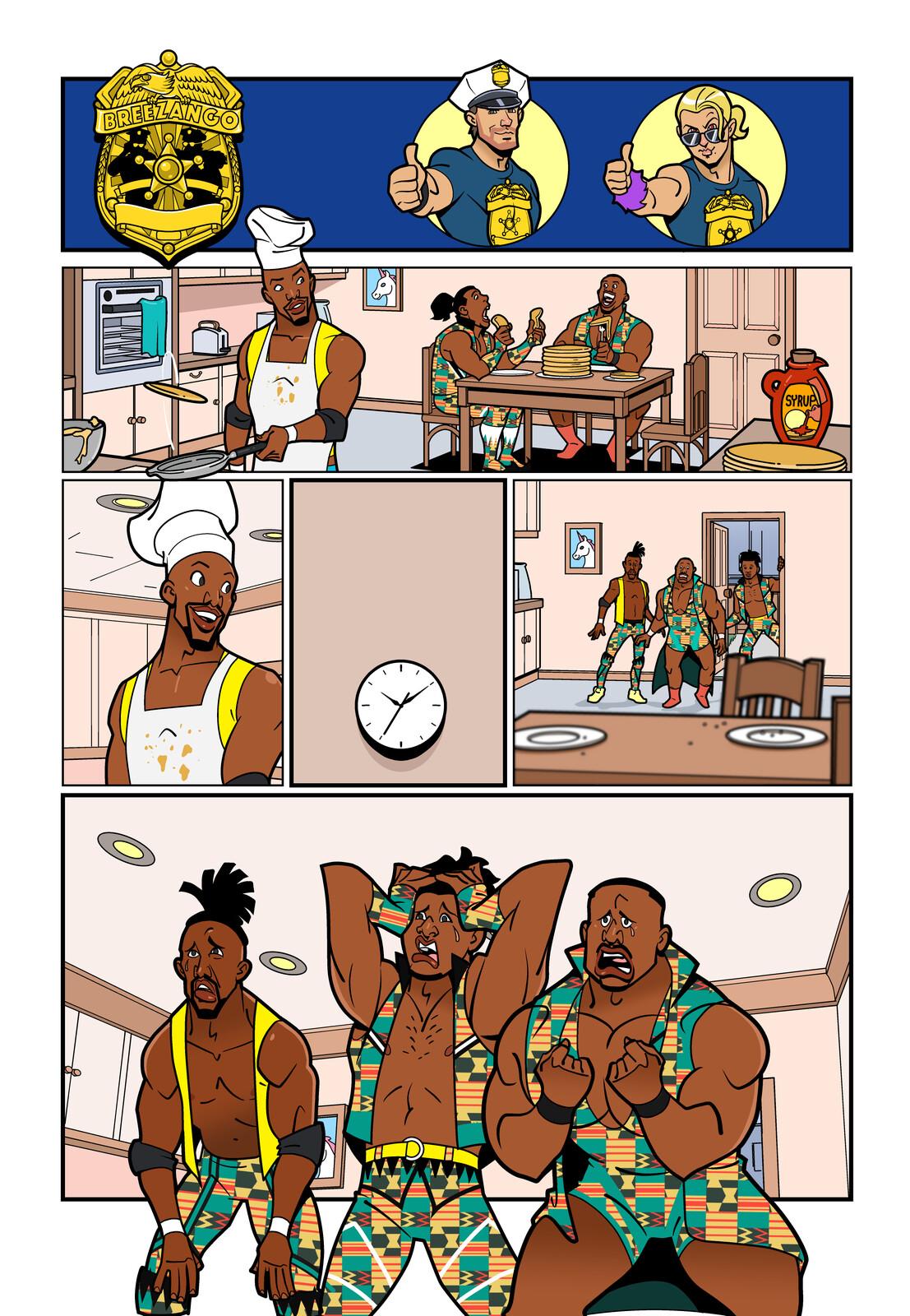 WWE Kids Fashion Police - Comic Strip #001