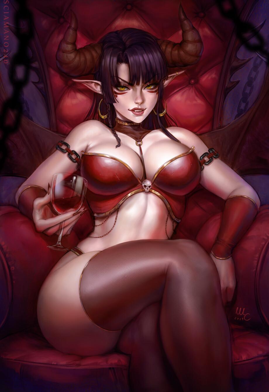 Alguém aqui já sonhou com Demônios ? Mirco-cabbia-sciamano240-halloween-valerie-2-3