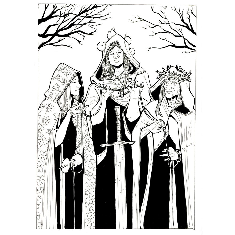 Day 16: The Three Witches