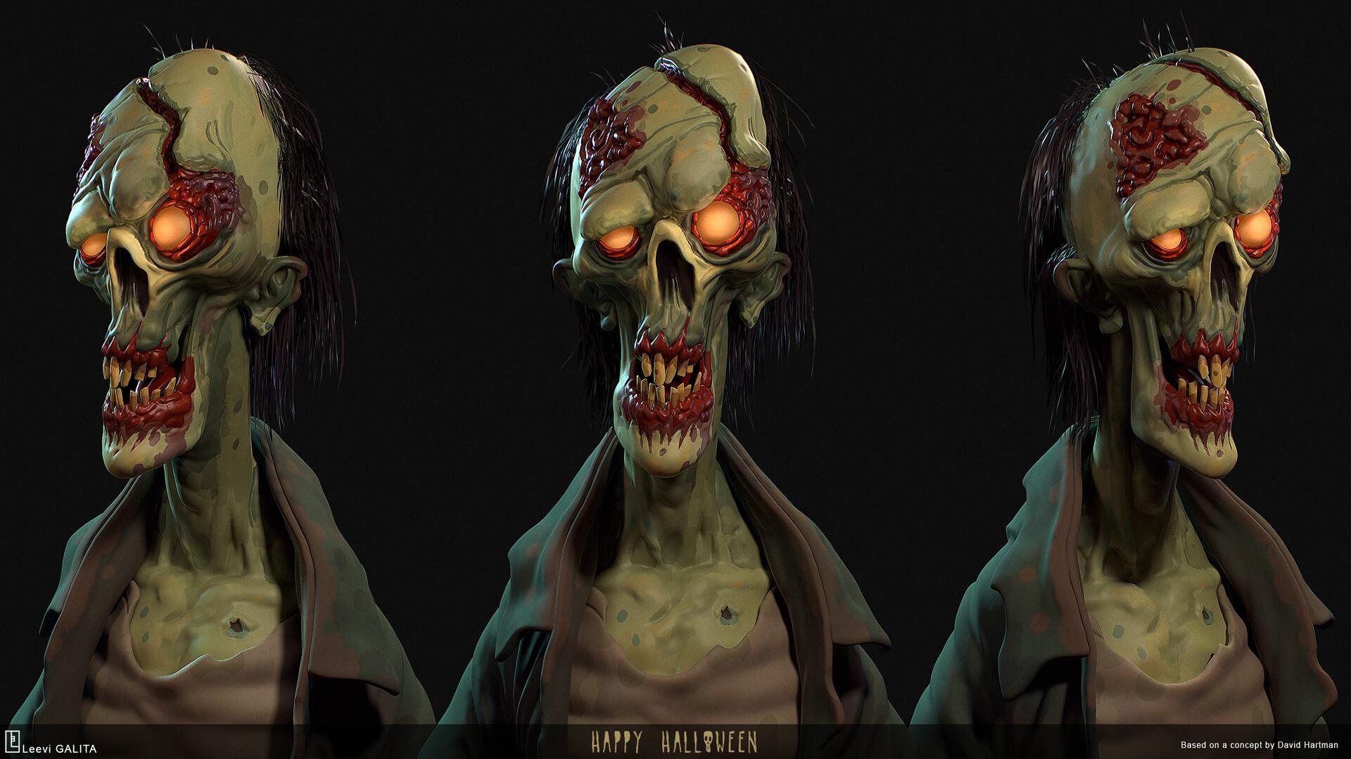 Leevi galita zombiemodel