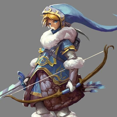 Legend of Zelda- Tundra Link Redesign