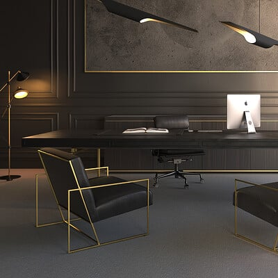 Luxury Office Renders