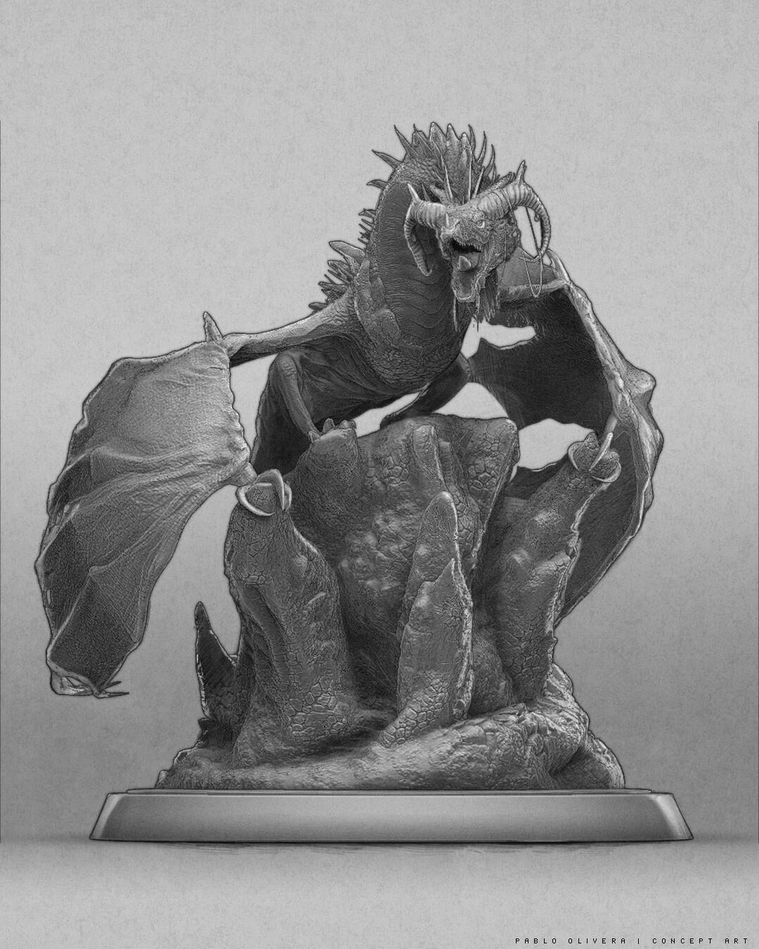 Pablo olivera dragon v01 draw
