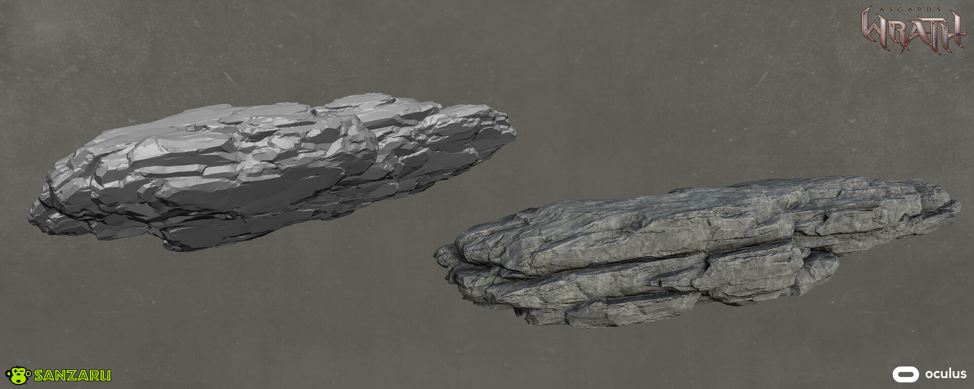 Shelved Rock Sculpts used in the Terrain for the Burial Ruin levels as well as other sections.