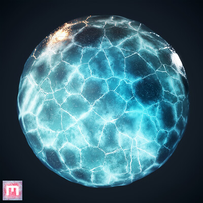 [Quixel Mixer] Ice Material Mix