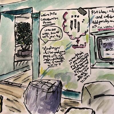 Daniel oakley urban sketching 2
