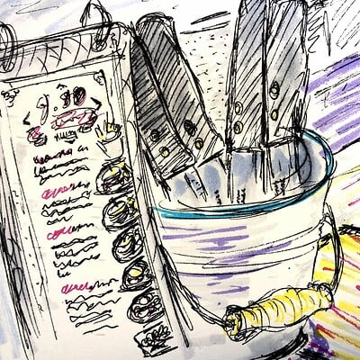 Daniel oakley urban sketching 3