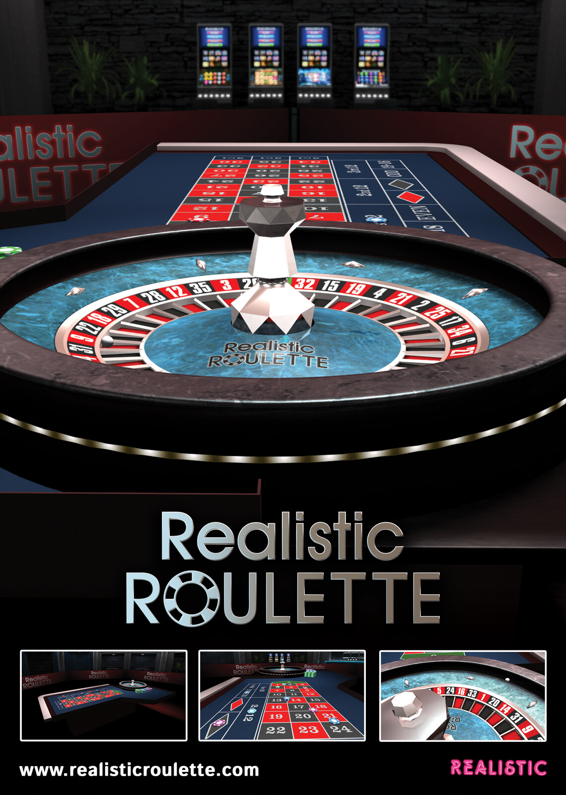 Realistic Roulette ICE Daily Magazine Advert