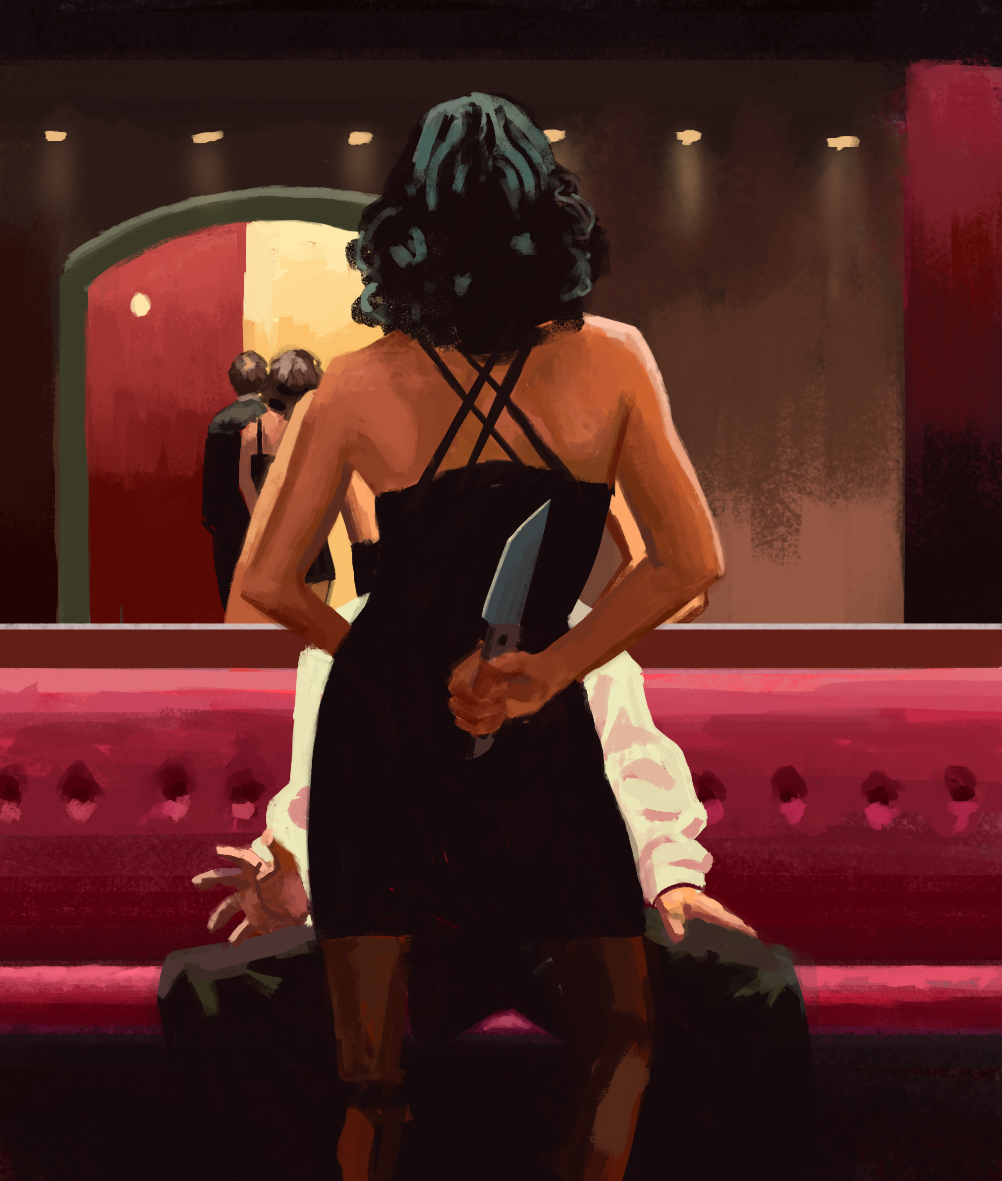 After Jack Vettriano
