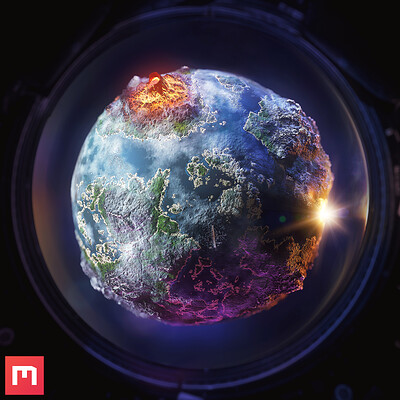 [Quixel Mixer] Planet Material Mix