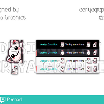 Aerlya graphics sample order 1