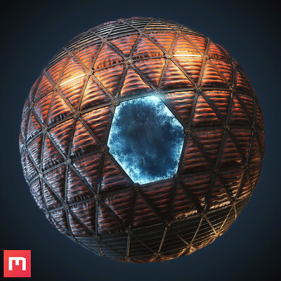 [Quixel Mixer] Space Window Material Mix