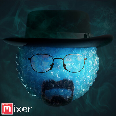 [Quixel Mixer] Breaking Bad Meth Material Mix