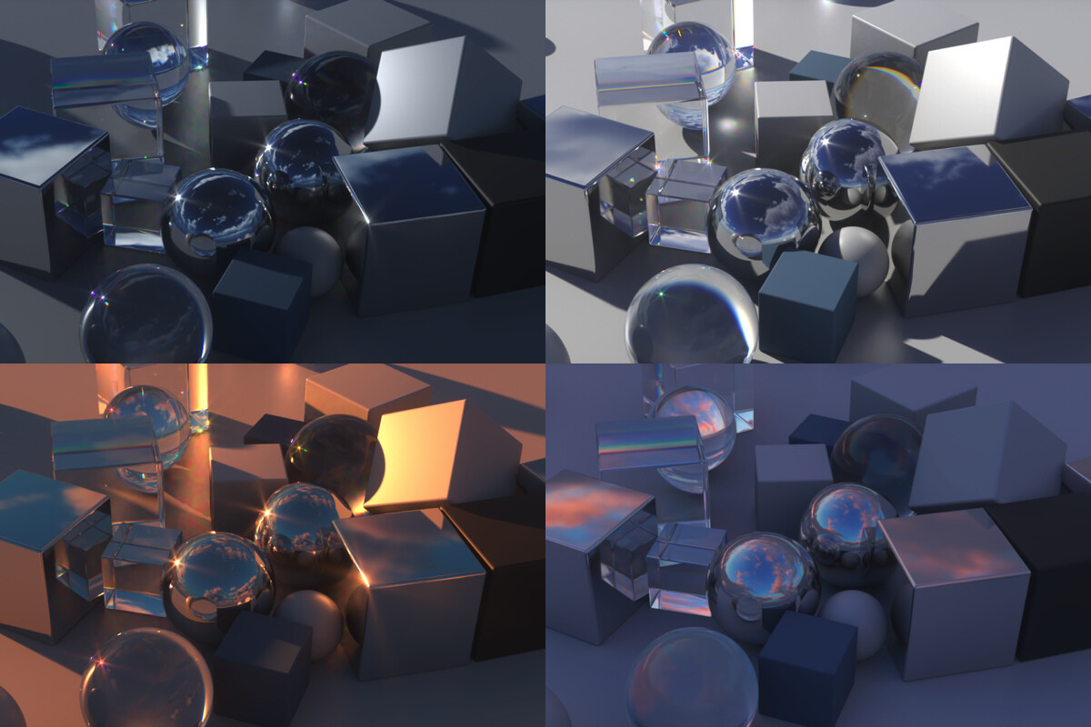 A closer view of the lighting examples. Again, take note of the lighting that can be achieved.