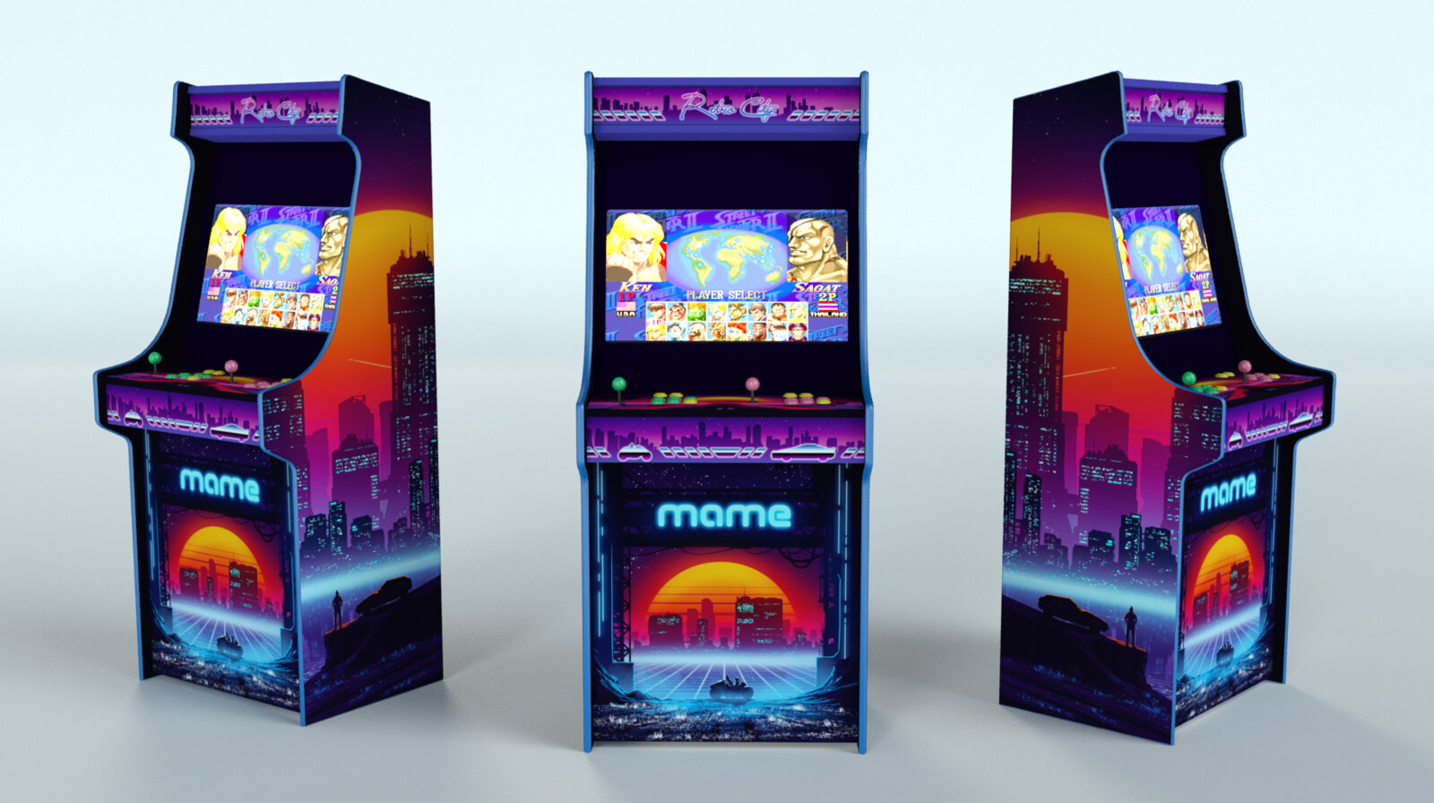 Commission Arcade Cabinet